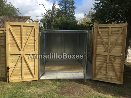 Double Mobility Scooter Storage Shed