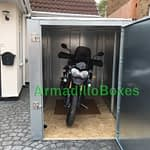 Motorcycle storage shed Fat Boy 6ft High