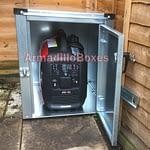 Secure generator storage units