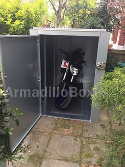 Motorcycle shed, Motorbike steel shed